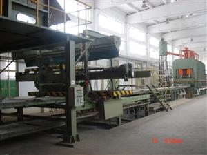 Particle board complete equipment