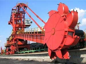 bucket wheel stacker and reclaimer specified gearbox